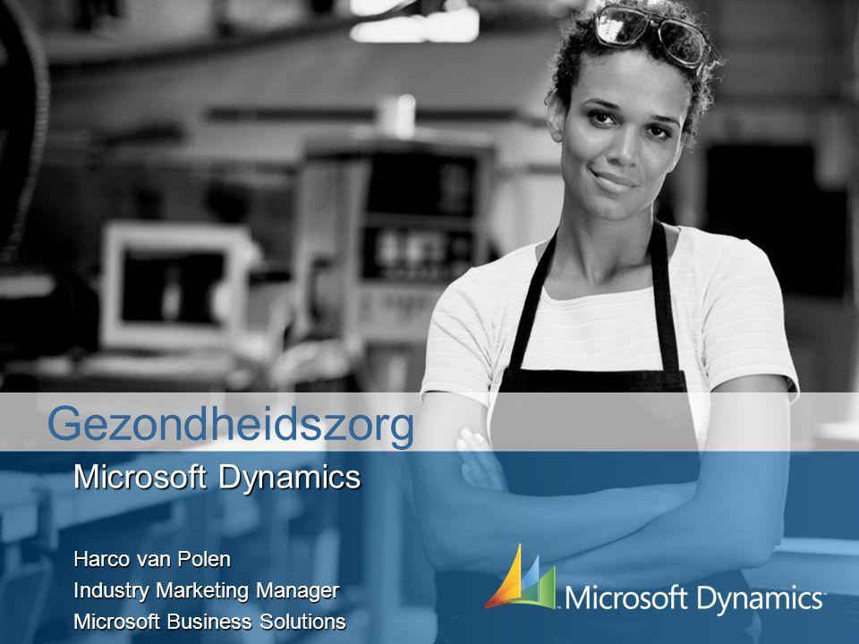 Gezondheidszorg Microsoft Dynamics Harco van Polen