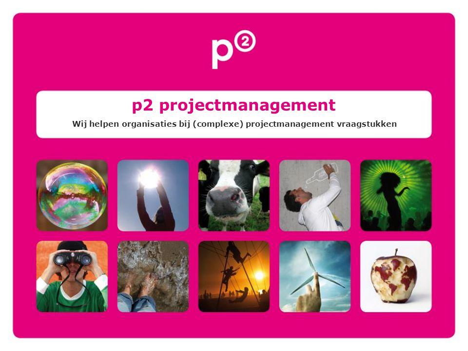 Wij helpen organisaties bij (complexe) projectmanagement vraagstukken