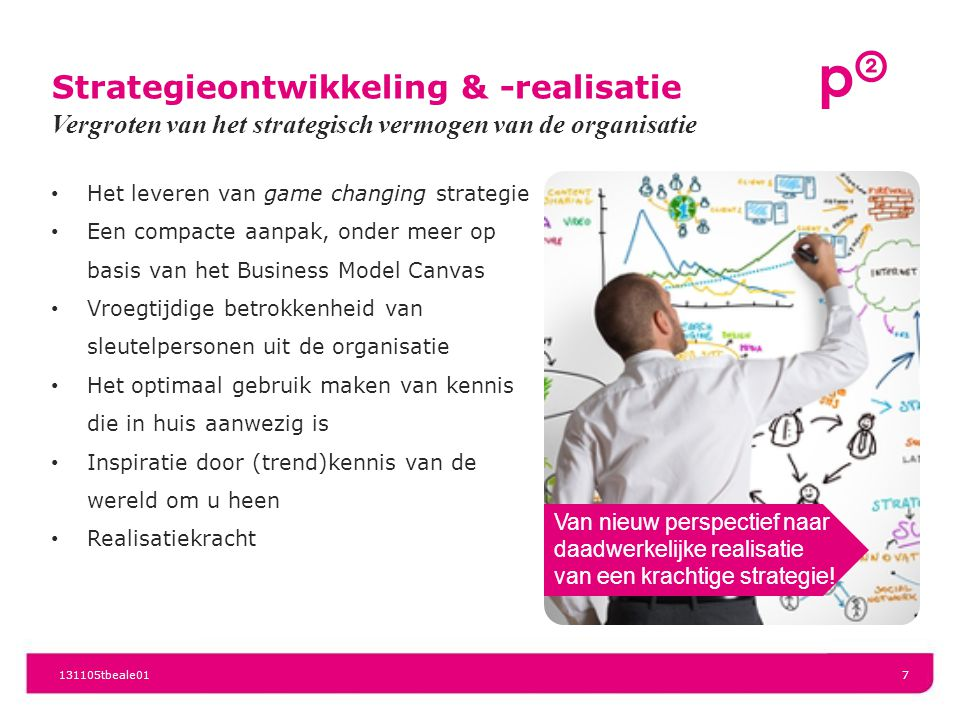 Strategieontwikkeling & -realisatie