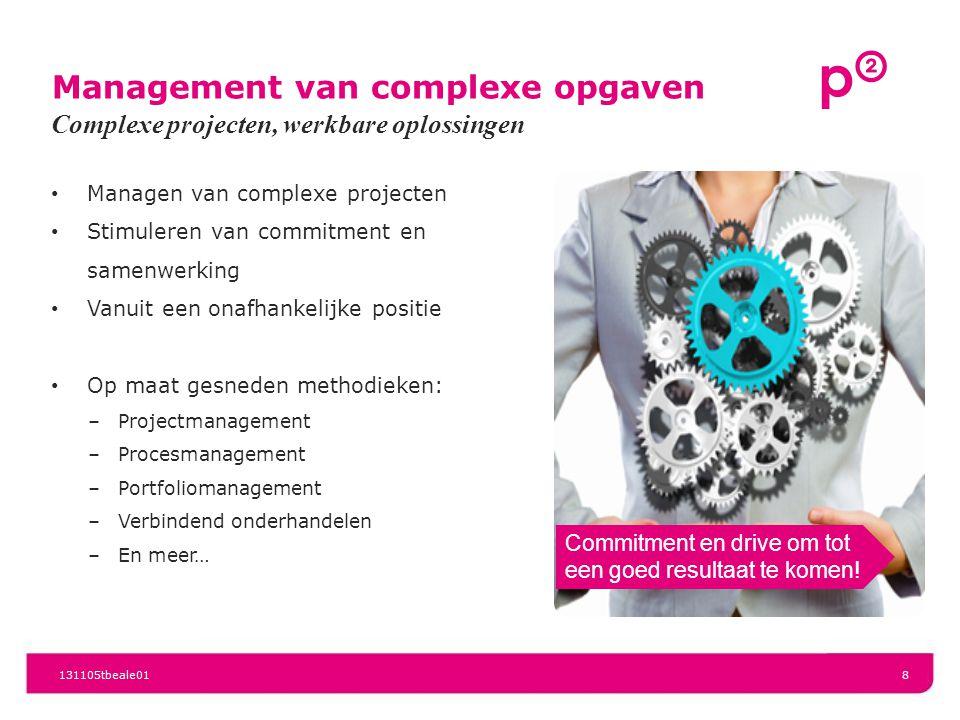 Management van complexe opgaven