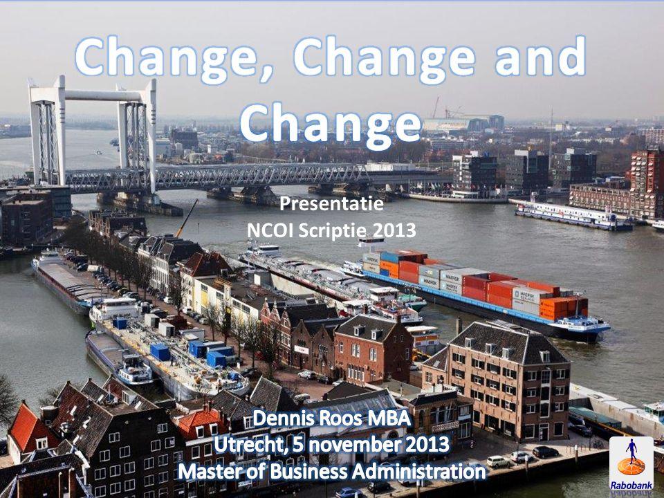 Change, Change and Change
