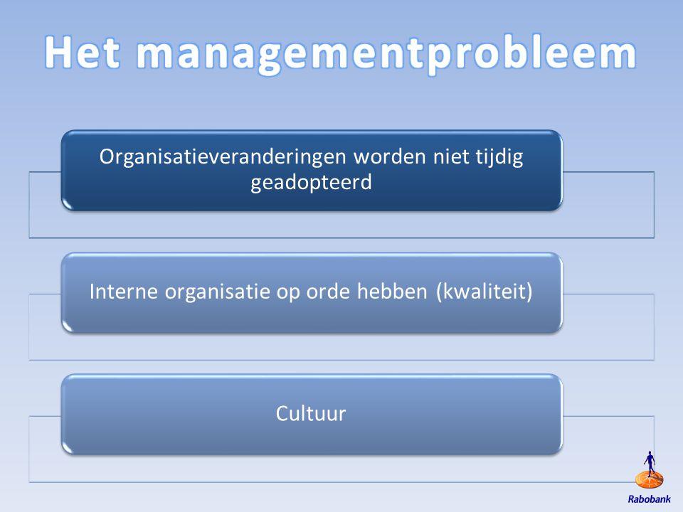 Het managementprobleem