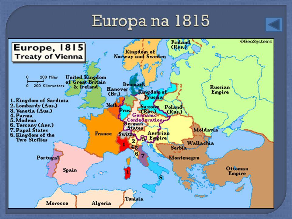 Europa na 1815