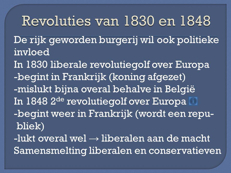 Revoluties van 1830 en 1848