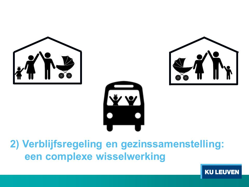 2) Verblijfsregeling en gezinssamenstelling: