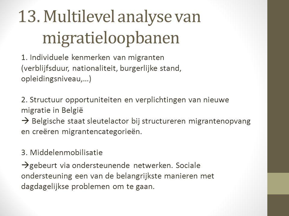 13. Multilevel analyse van migratieloopbanen