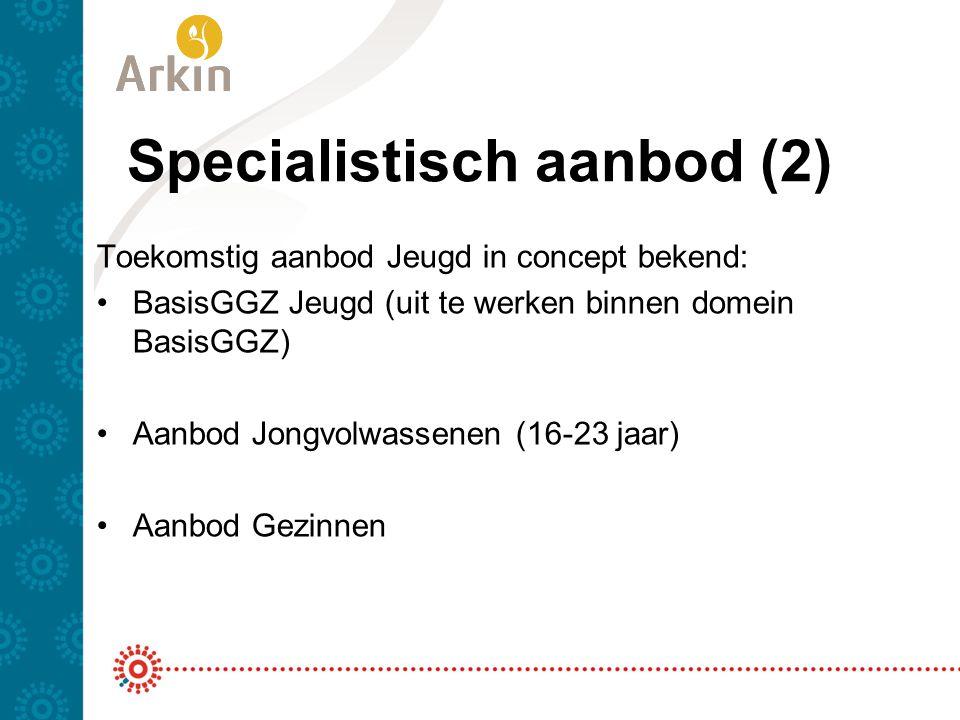 Specialistisch aanbod (2)