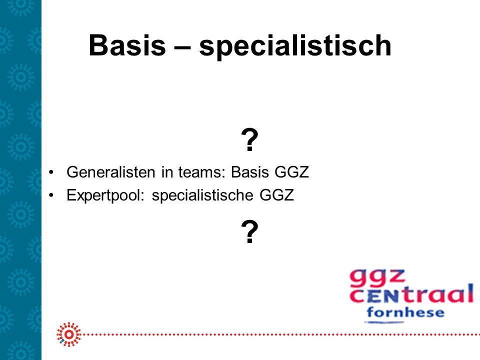 Basis – specialistisch