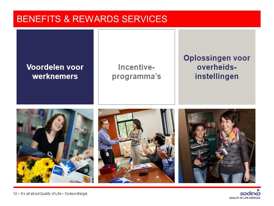BENEFITS & REWARDS SERVICES