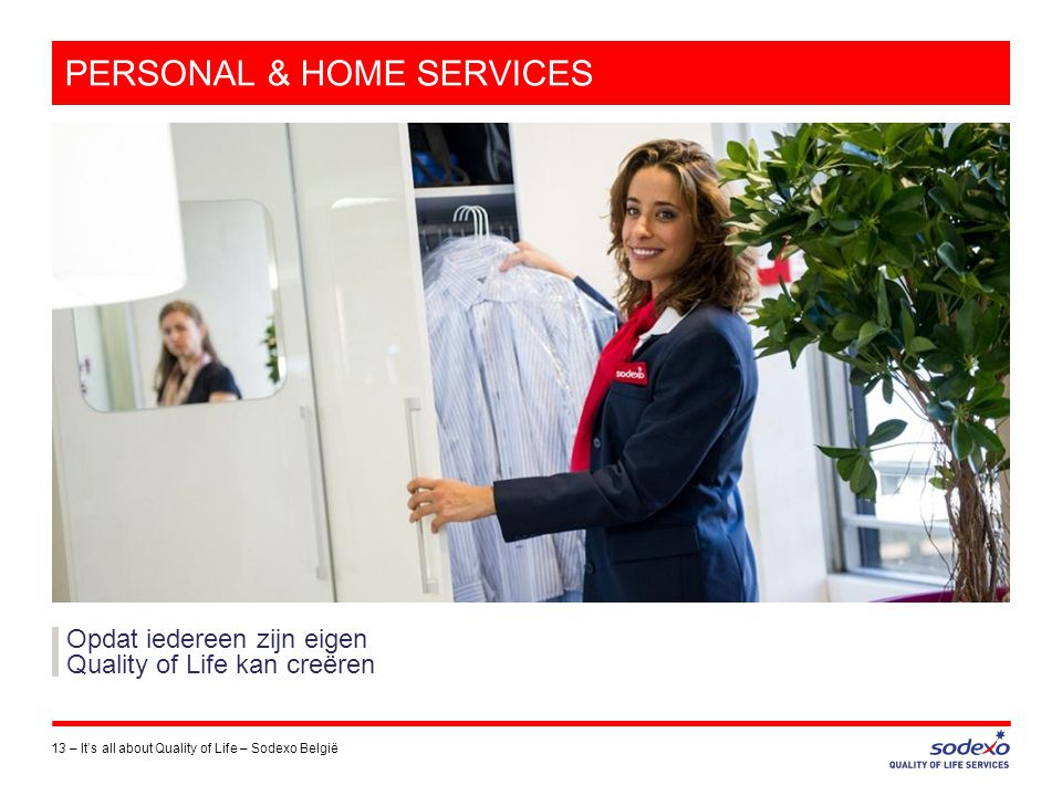 PERSONAL & HOME SERVICES