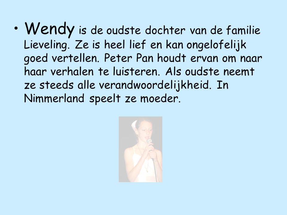 Wendy is de oudste dochter van de familie Lieveling