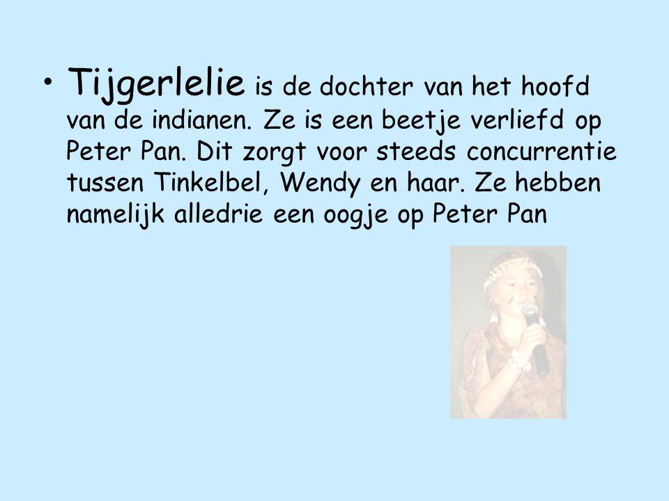 Tijgerlelie is de dochter van het hoofd van de indianen