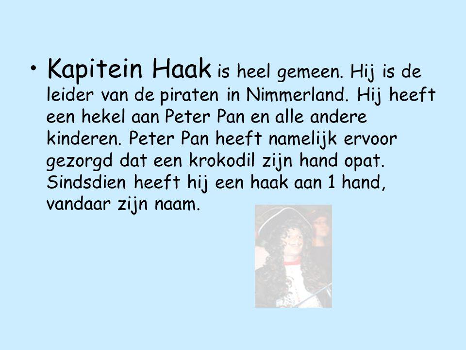 Kapitein Haak is heel gemeen