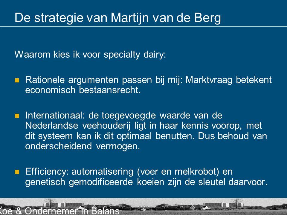 De strategie van Martijn van de Berg