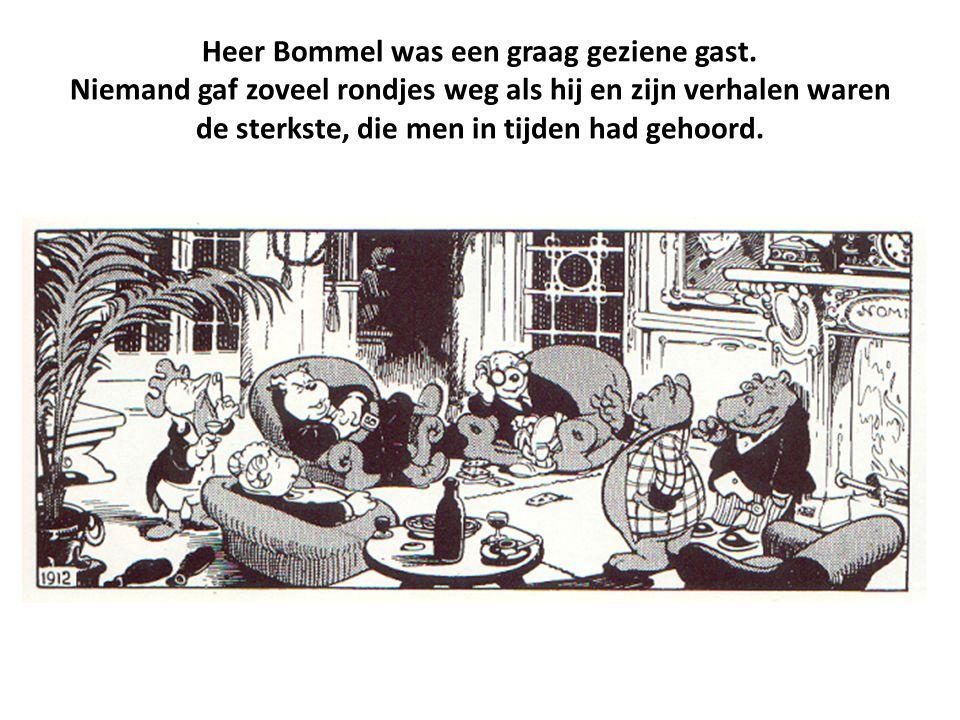 Heer Bommel was een graag geziene gast