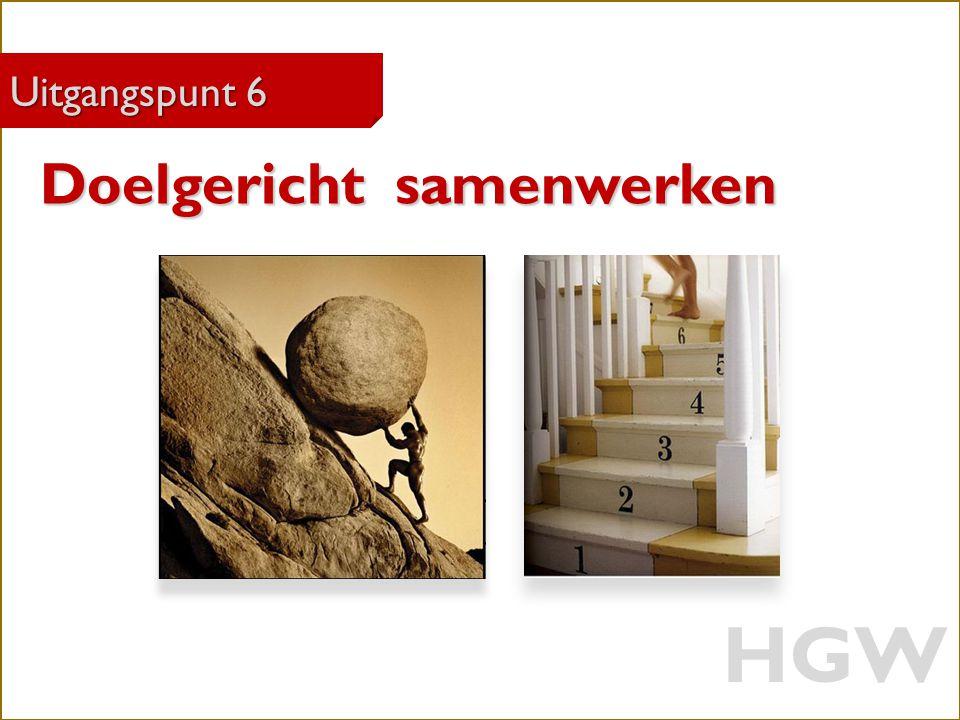 HGW Doelgericht samenwerken Uitgangspunt 6 Robert Marzoan