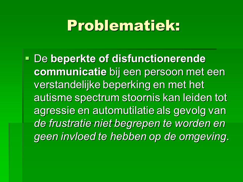 Problematiek: