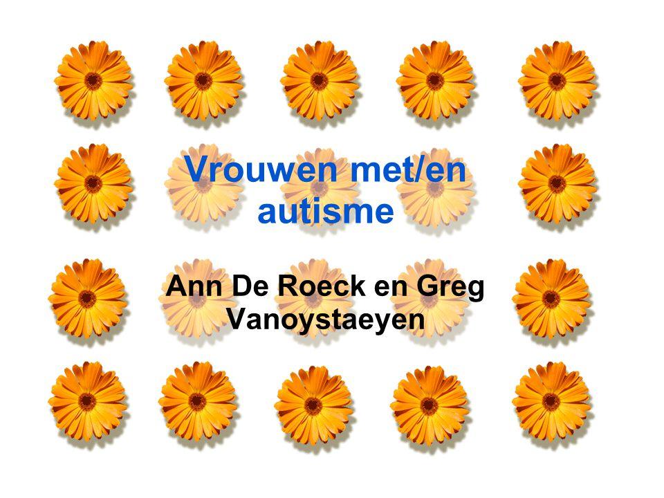 Vrouwen met/en autisme