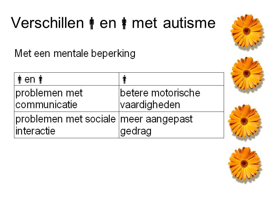 Verschillenenmet autisme