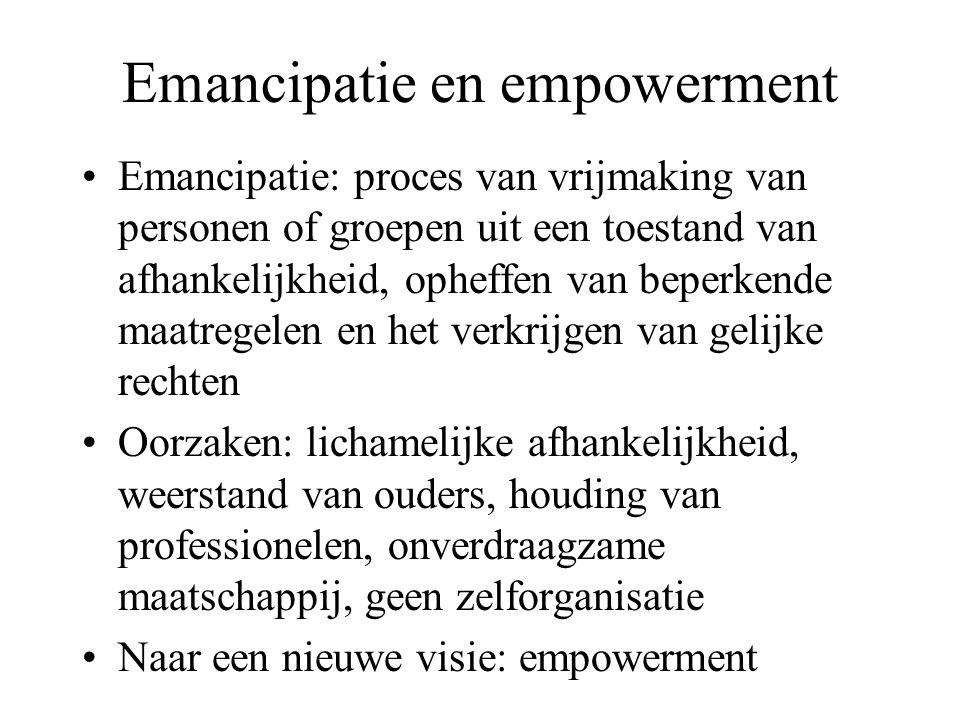 Emancipatie en empowerment
