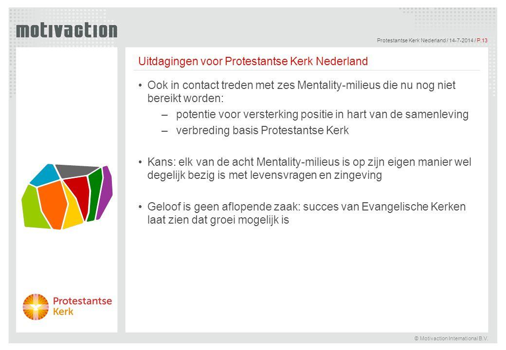 Uitdagingen voor Protestantse Kerk Nederland