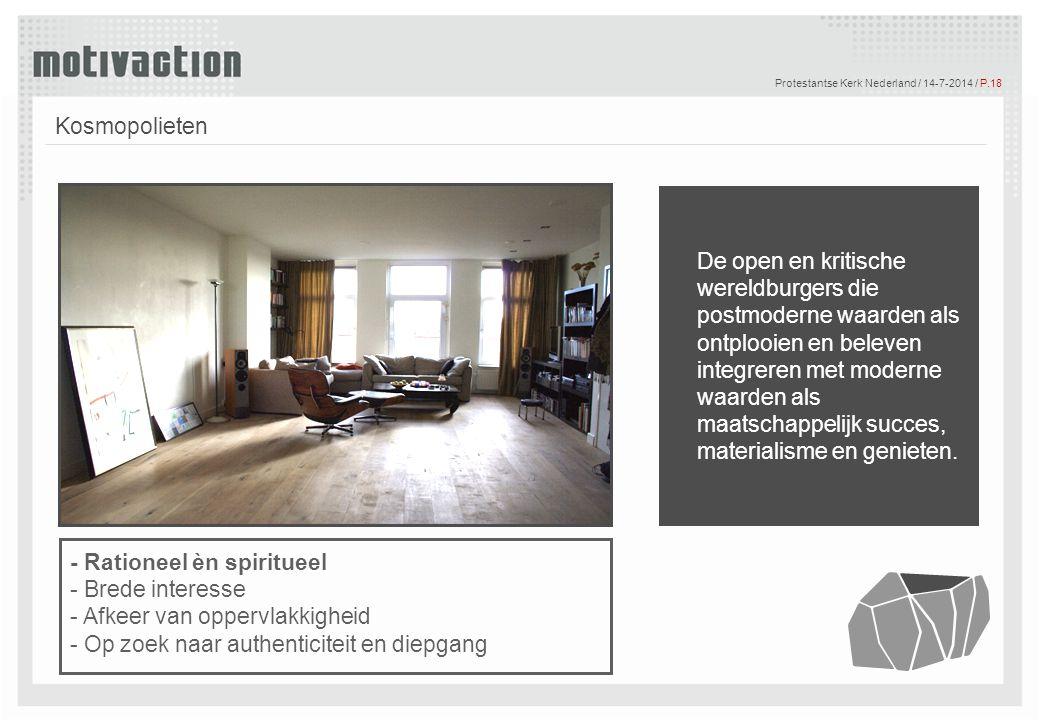 Protestantse Kerk Nederland / 4-4-2017 / P.18
