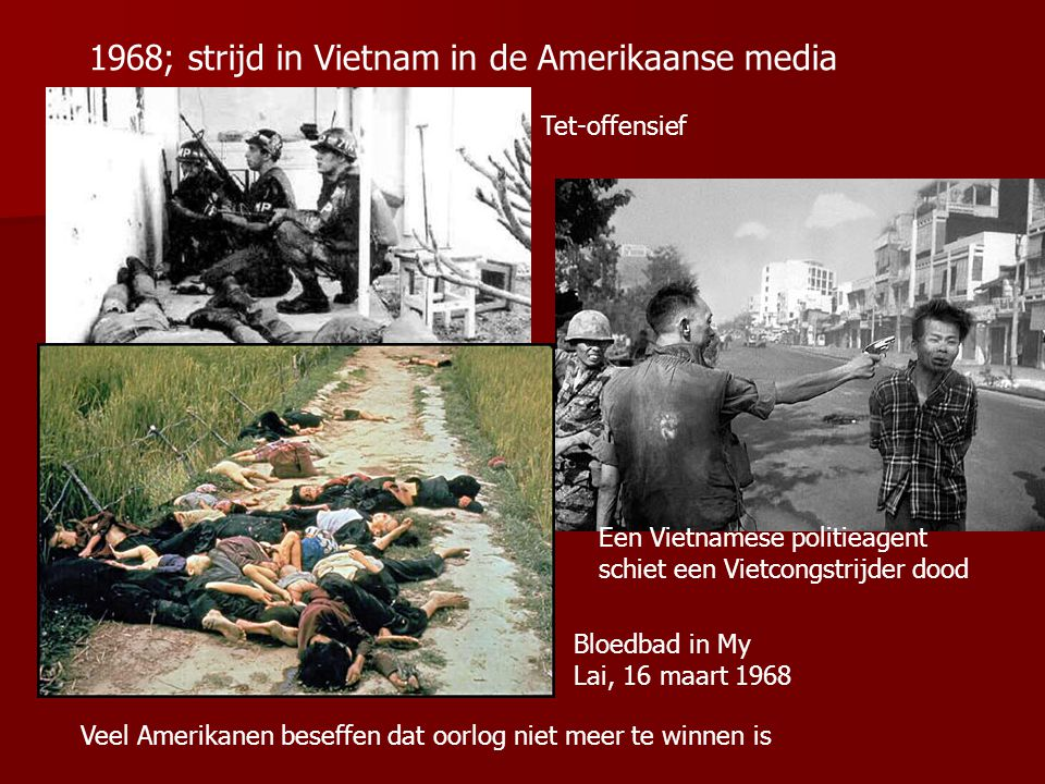 1968; strijd in Vietnam in de Amerikaanse media
