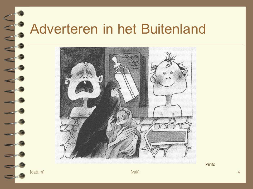 Adverteren in het Buitenland