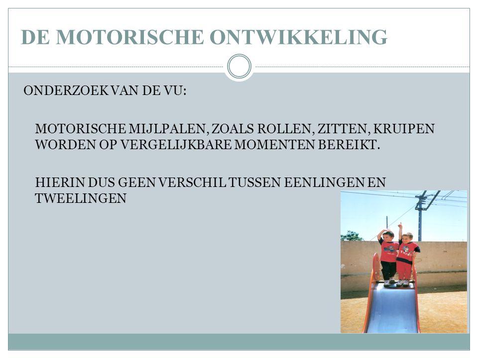 DE MOTORISCHE ONTWIKKELING
