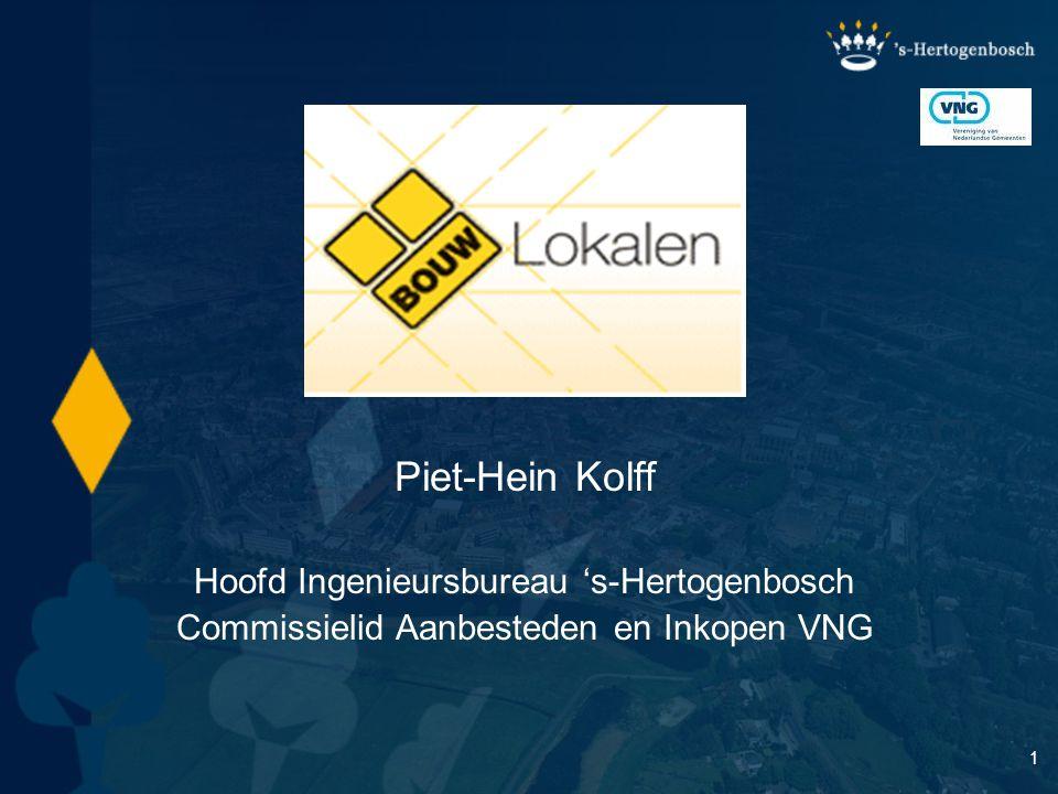 Piet-Hein Kolff Hoofd Ingenieursbureau 's-Hertogenbosch