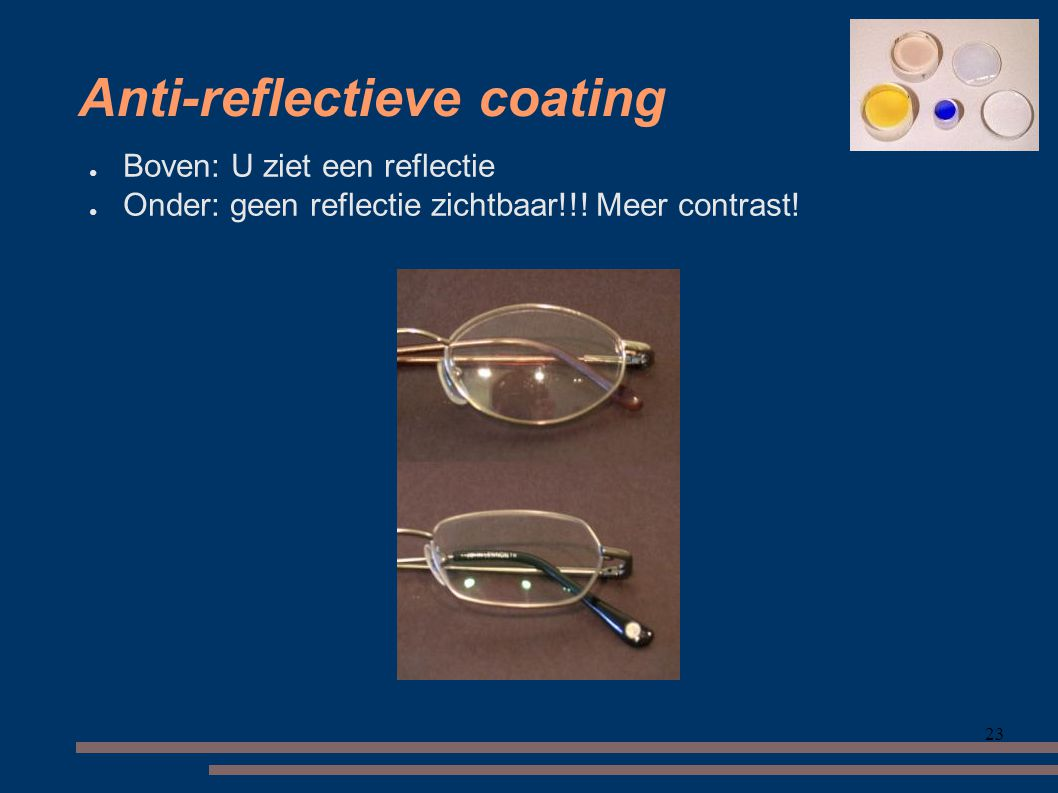 Anti-reflectieve coating