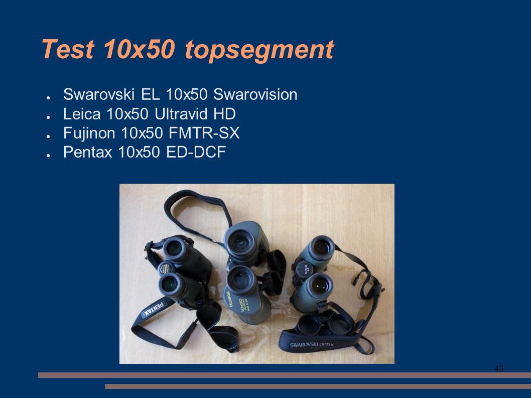 Test 10x50 topsegment Swarovski EL 10x50 Swarovision