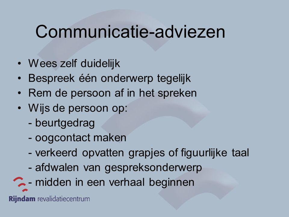Communicatie-adviezen