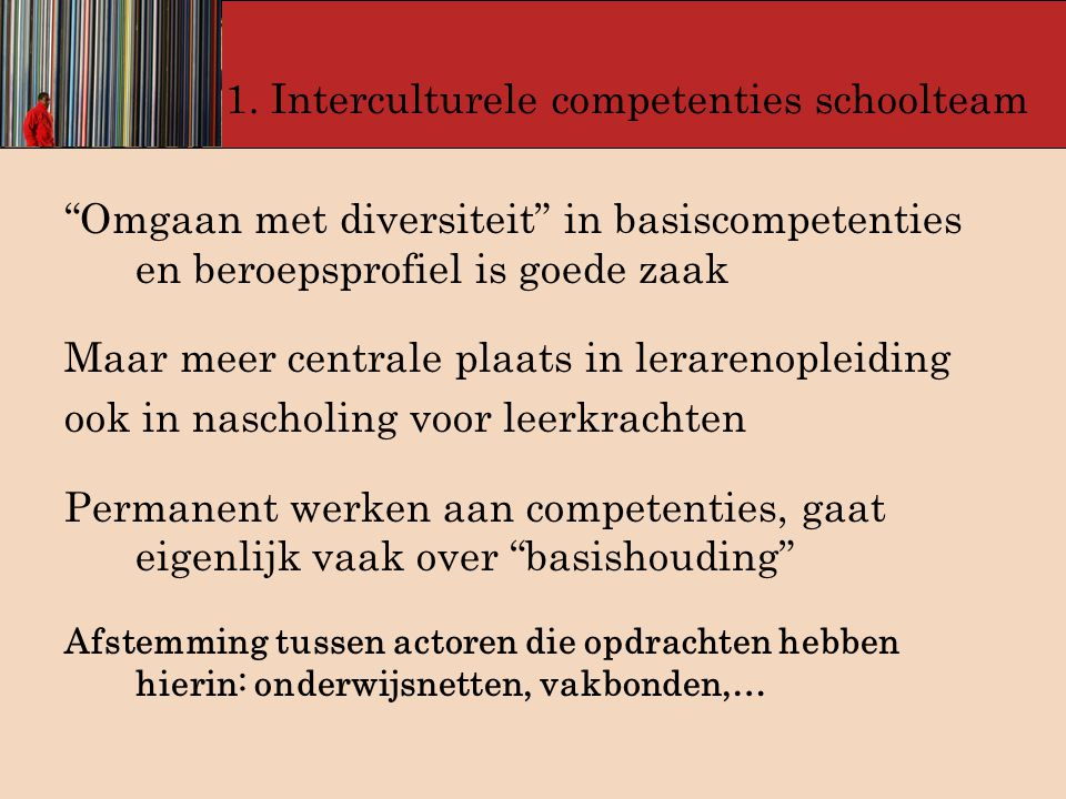 1. Interculturele competenties schoolteam