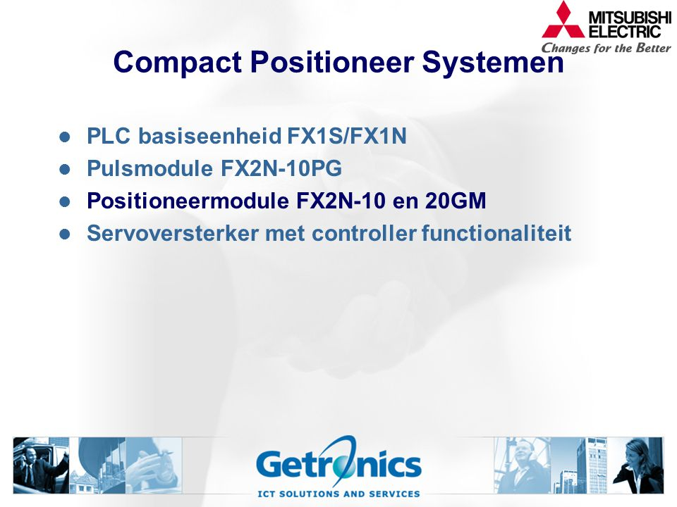 Compact Positioneer Systemen