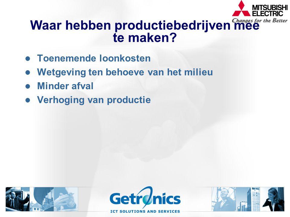Waar hebben productiebedrijven mee te maken
