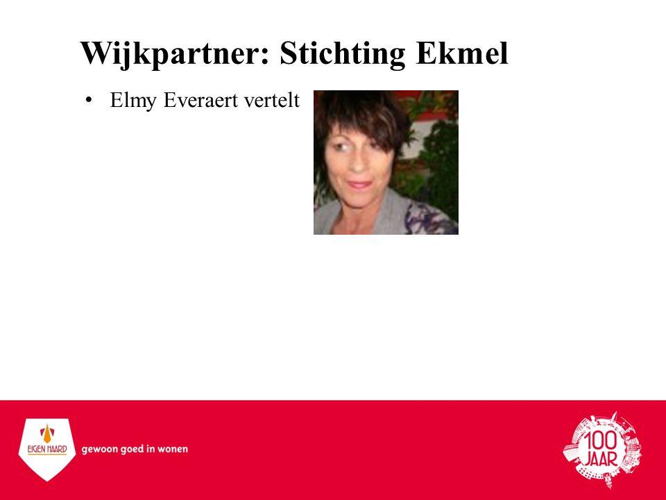 Wijkpartner: Stichting Ekmel