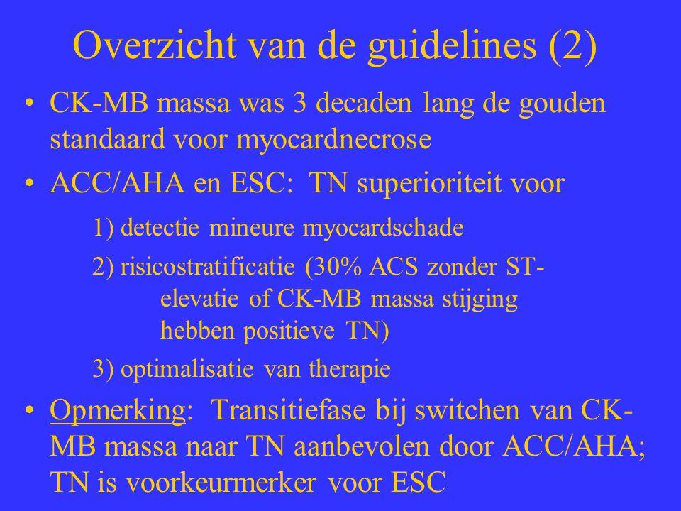 Overzicht van de guidelines (2)