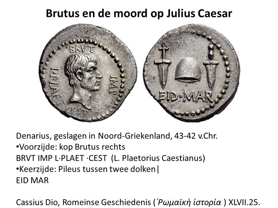 Brutus en de moord op Julius Caesar