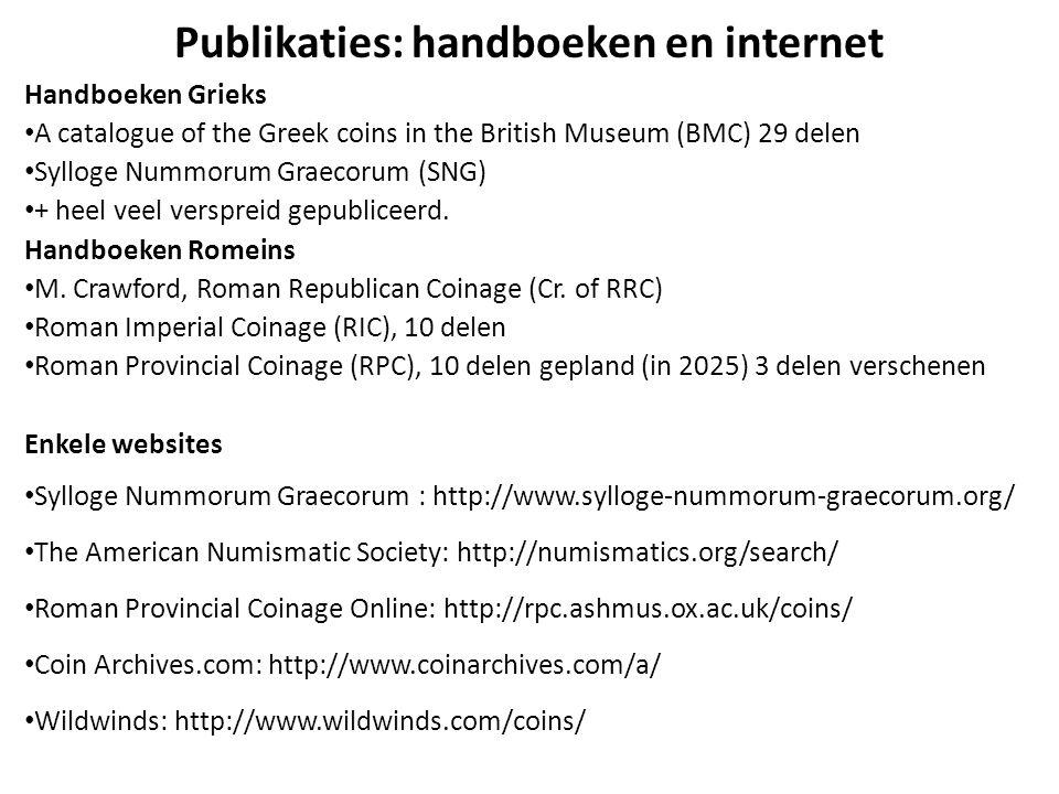 Publikaties: handboeken en internet