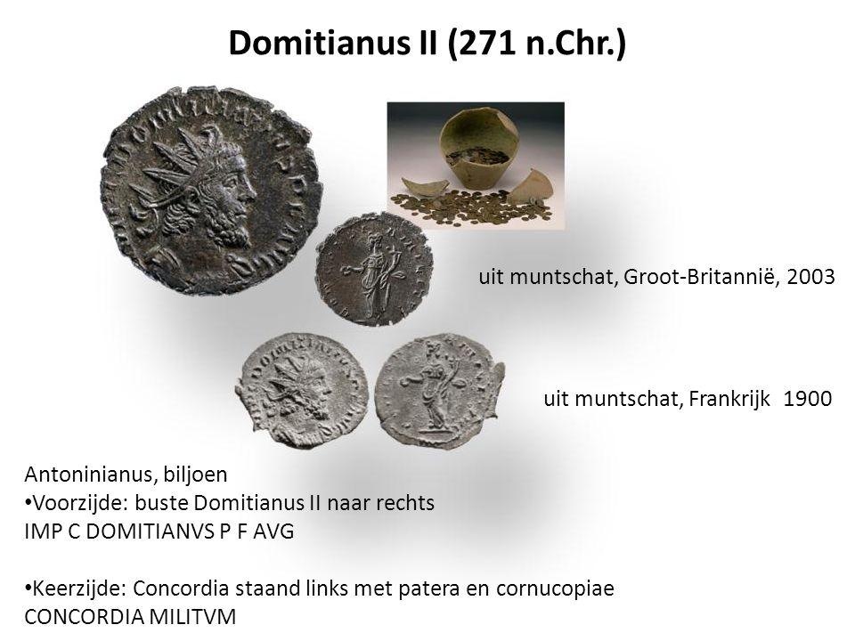 Domitianus II (271 n.Chr.) uit muntschat, Groot-Britannië, 2003