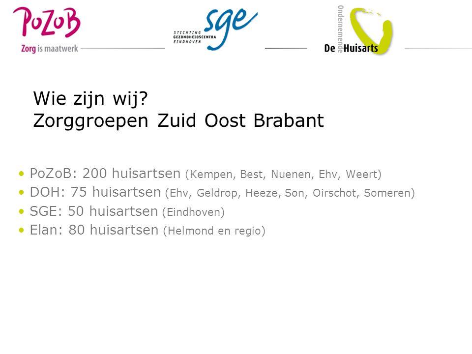 Zorggroepen Zuid Oost Brabant