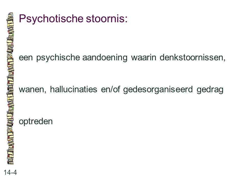 Psychotische stoornis: