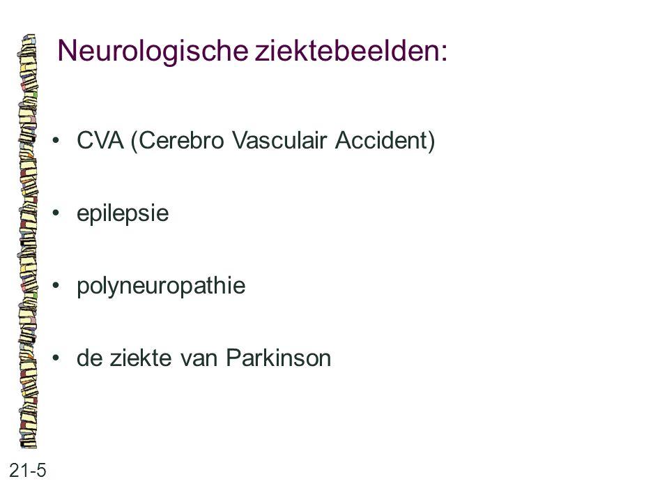 Neurologische ziektebeelden: