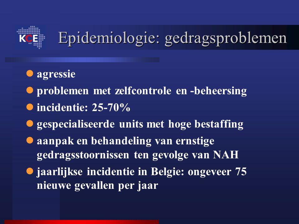 Epidemiologie: gedragsproblemen