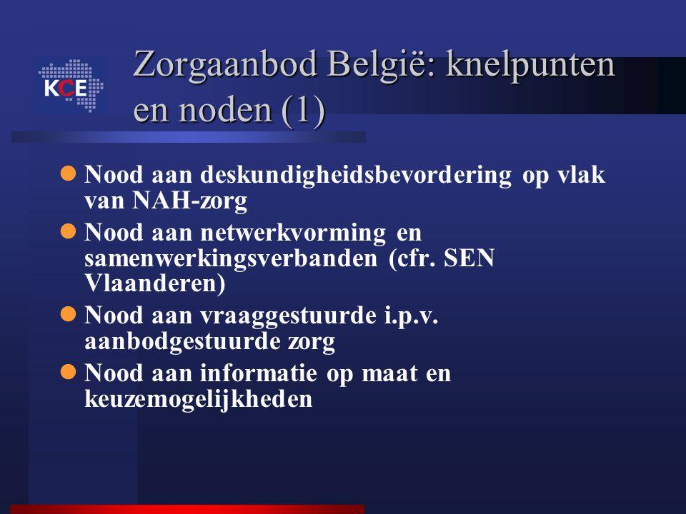Zorgaanbod België: knelpunten en noden (1)
