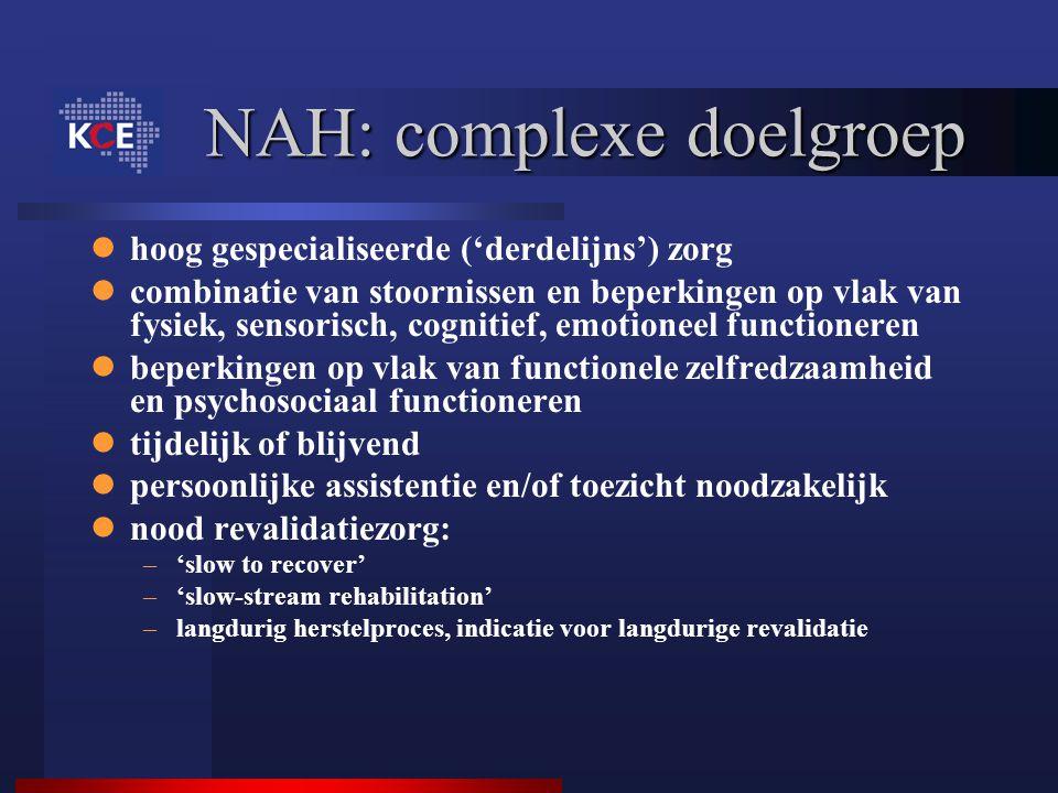 NAH: complexe doelgroep
