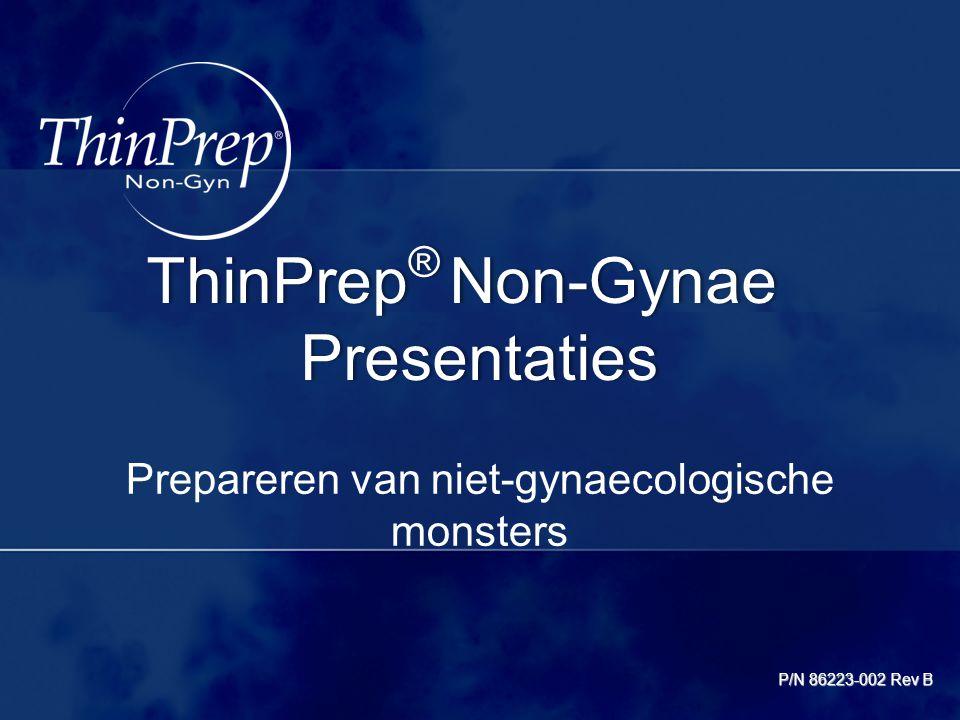 Prepareren van niet-gynaecologische monsters