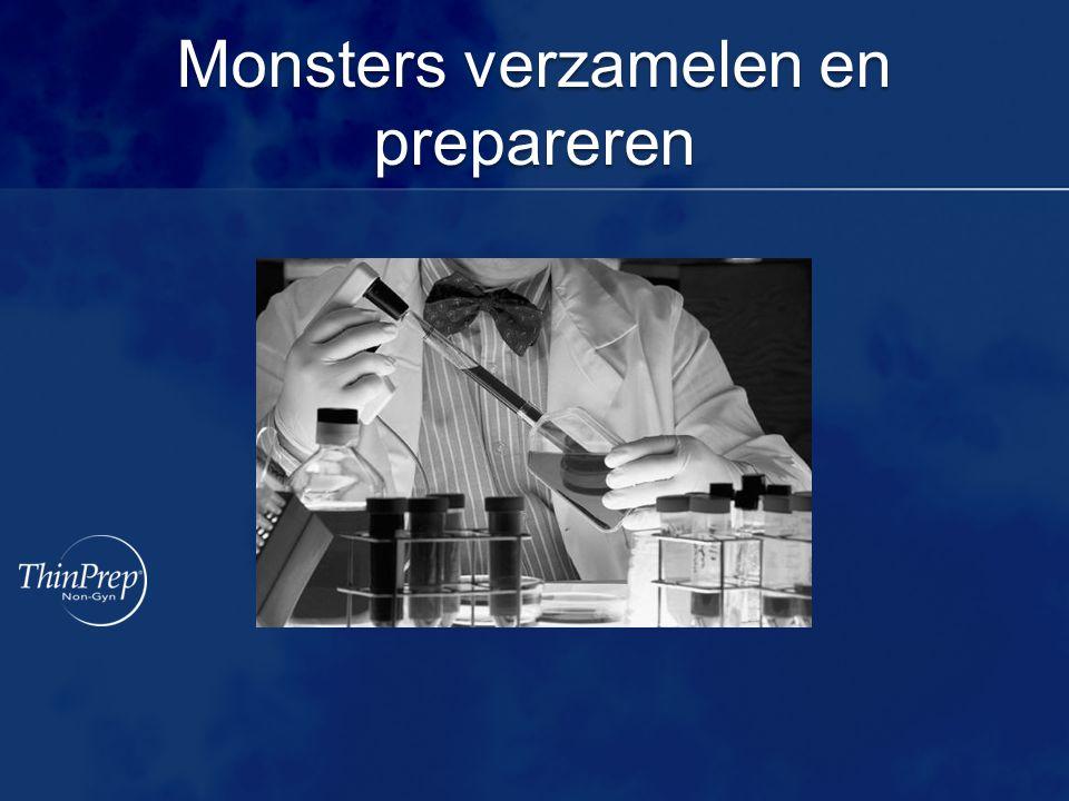 Monsters verzamelen en prepareren