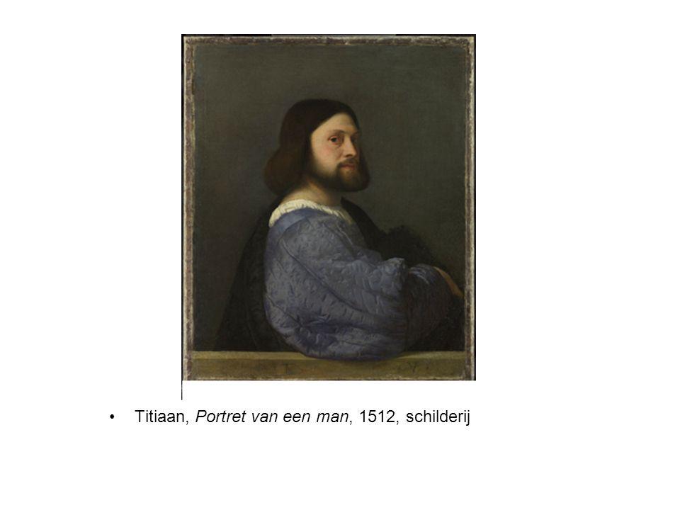 Titiaan, Portret van een man, 1512, schilderij